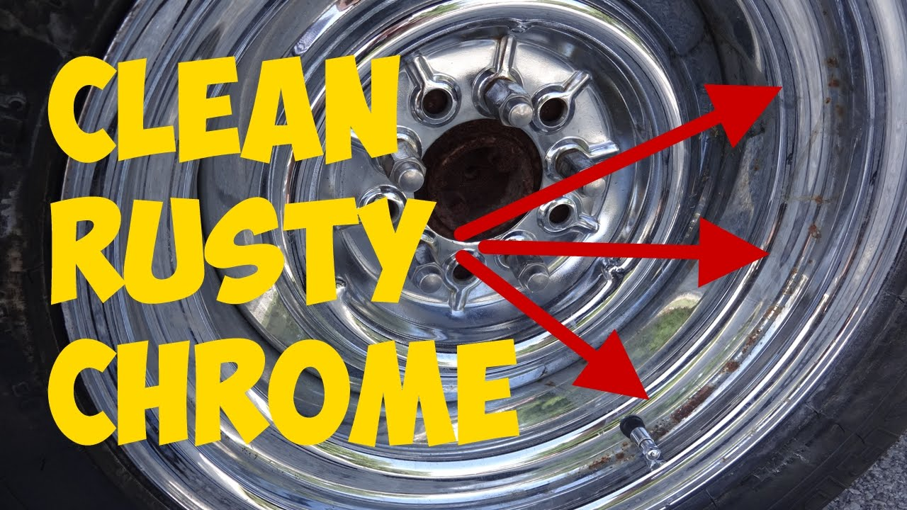 Easy rusty chrome cleaning trick with aluminum foil youtube watchthetrailerfo