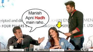 Salman Khan FIGHTS With Manish Paul For Touching Katrina Kaif At Da Bangg Tour Pune
