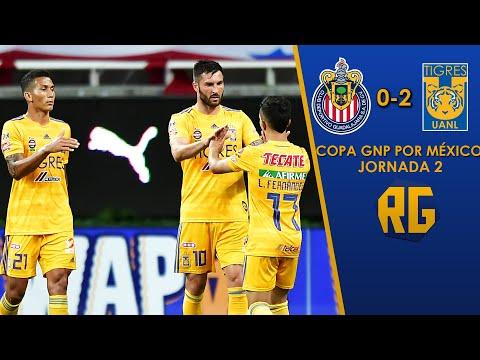 CHIVAS 0-2 TIGRES | JORNADA 2 COPA GNP POR MÉXICO 2020