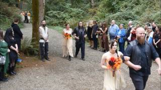 Our Heathen Handfasting Ceremony, Freyja's Day 9/30/2016
