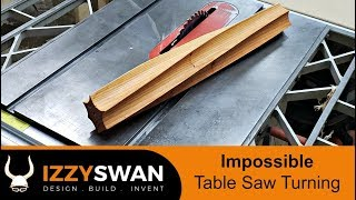 Impossible Table Saw Turning | How to Video