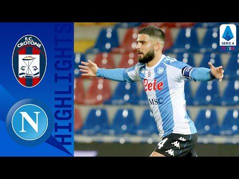 Crotone 0-4 Napoli | Il Napoli cala il poker | Serie A TIM