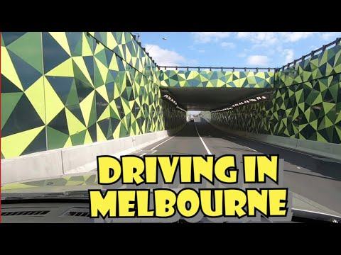 Driving In Melbourne - Australia