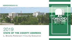 2019 Oakland County State of the County Address