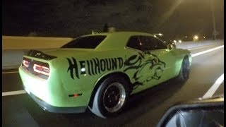 Challenger SRT8 Whipple VS. 15' Mustang GT Roush Supercharged