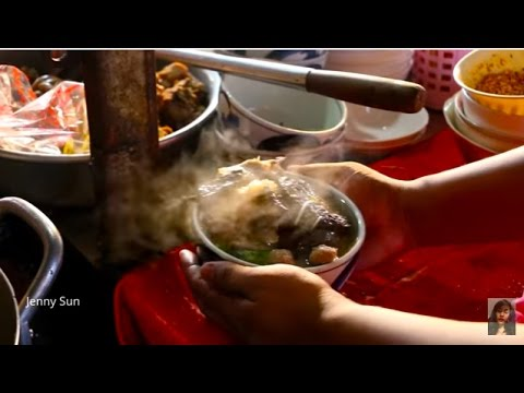 Asian Street Food, Food And Life In Market, Market Street Food In My Village