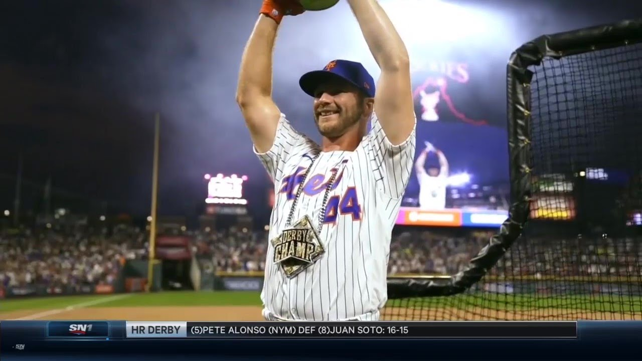 Back to back! Alonso takes HR Derby crown