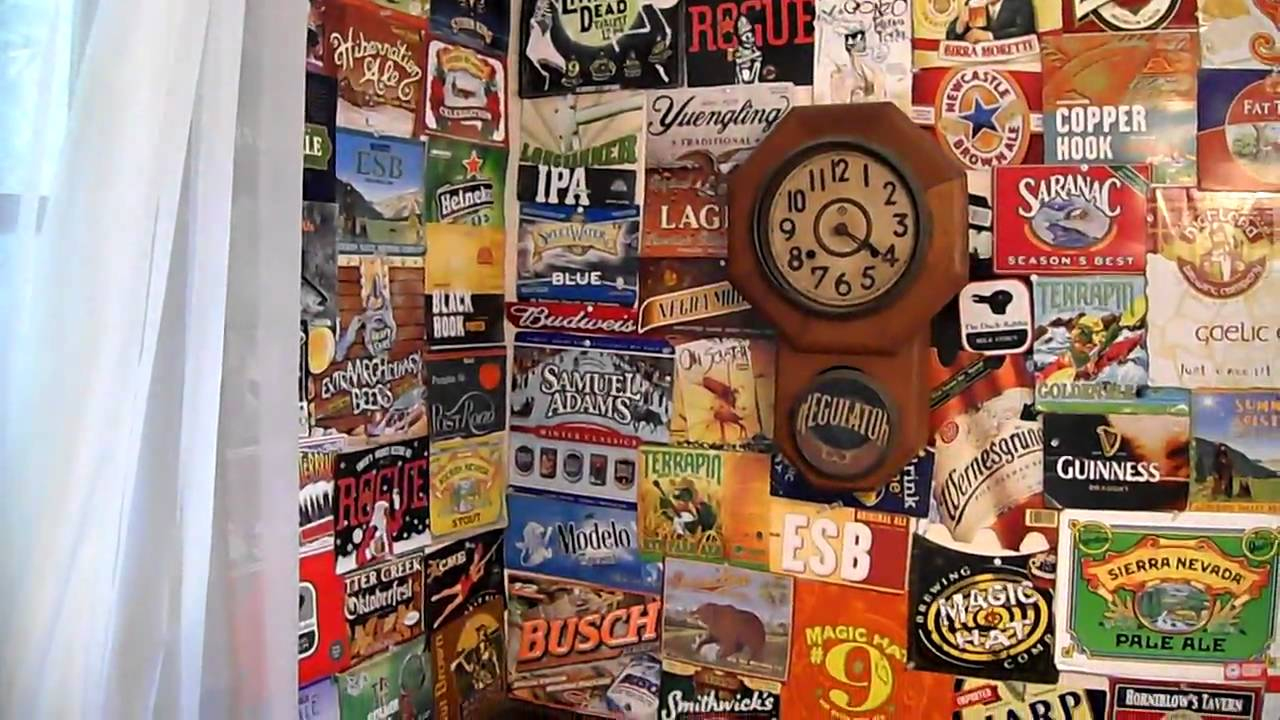The Best Beer Wall Ever Youtube