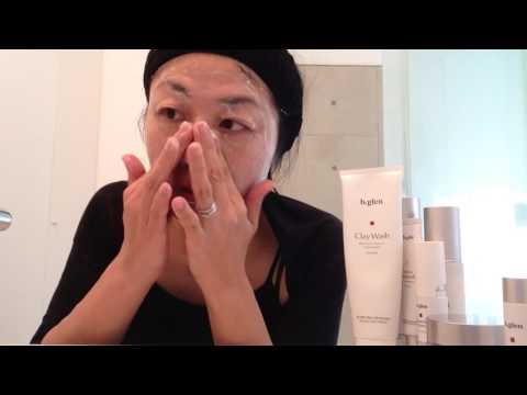 b.glenの天然クレイ洗顔は泡だてないタイプなのでめんどくさがりには超!いい(笑)