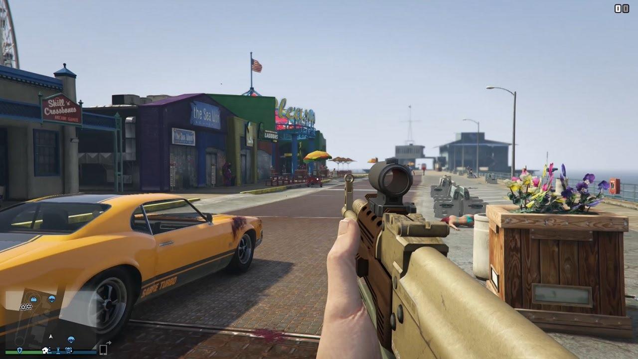 Gta V Online Ps4 Cazas Armas Personajes Vehiculos Y Hombre De Plata Youtube
