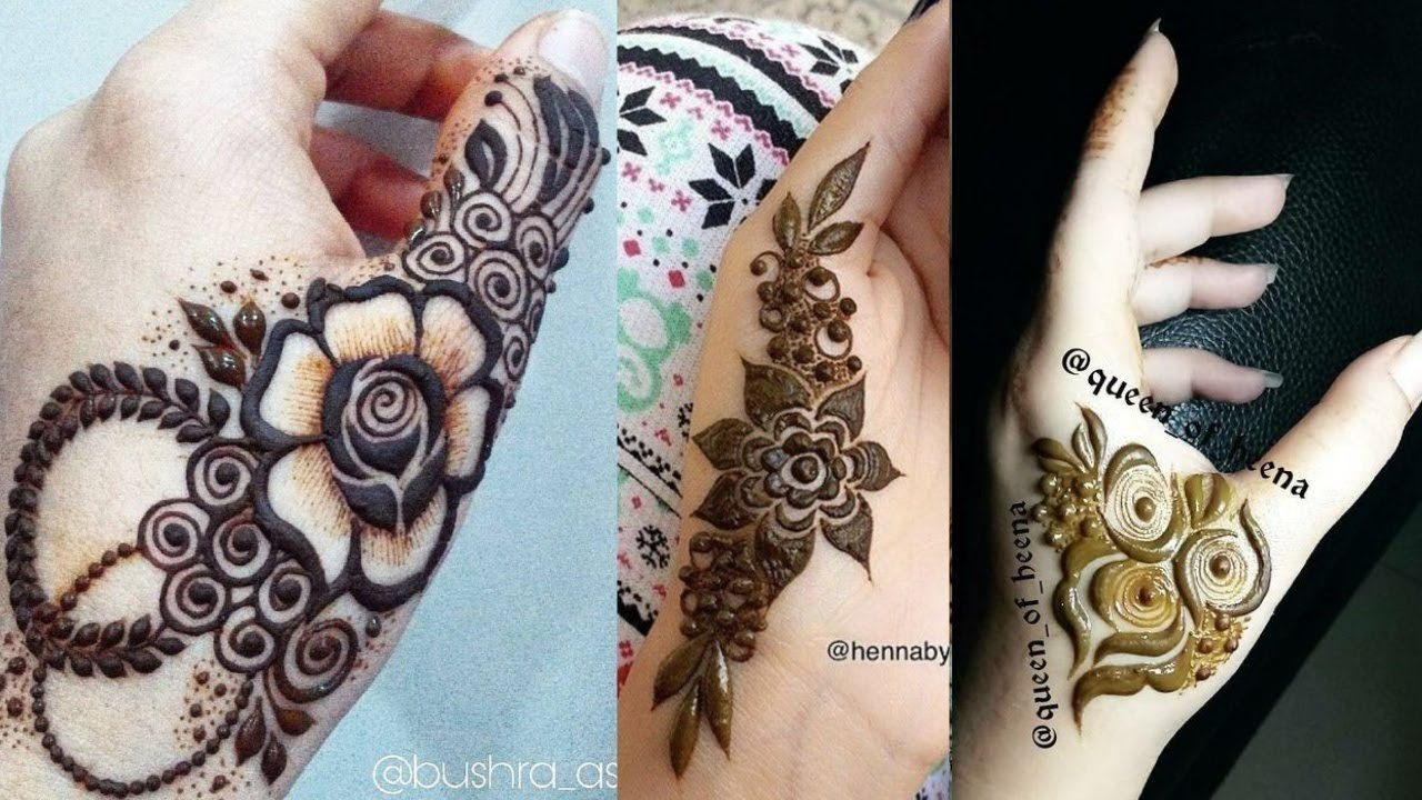 Simple mehndi designs for mehndi lovers 2018