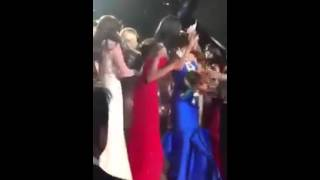 Miss Philippines bullied by other candidates during Miss Universe 2015 Coronation NOT SEEN ON TV