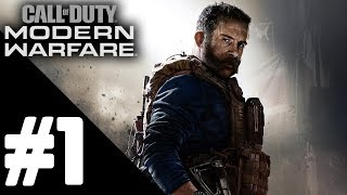 Call of Duty: Modern Warfare Walkthrough Gameplay Part 1 – PS4 PRO No Commentary