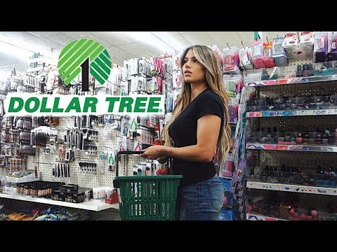 TRYING DOLLAR TREE MAKEUP CHALLENGE
