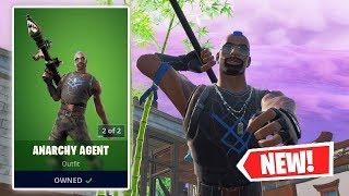 NEW ANARCHY AGENT Skin Gameplay in Fortnite!