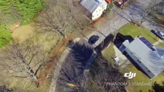 Spring court ext Woburn by drone