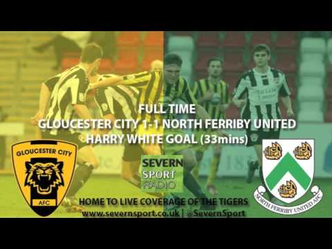 Severn Sport Radio - Harry White Scores vs North Ferriby United