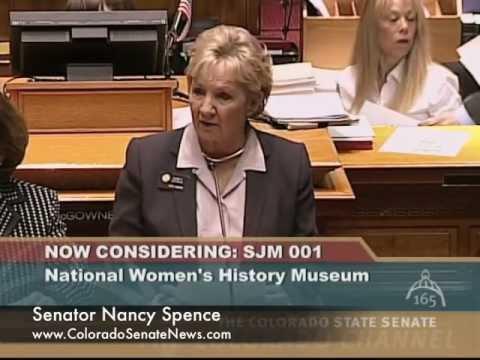Senator Nancy Spence | SJM12-001