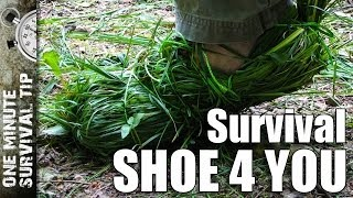 Survival shoe 4 you - one minute survival tip