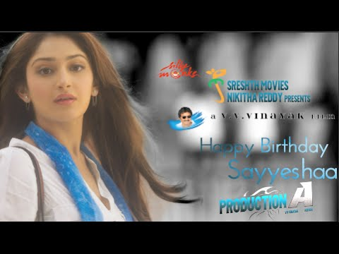 akhil-akkineni's-movie-making---sayesha-saigal-birthday-special-video---v-v-vinayak
