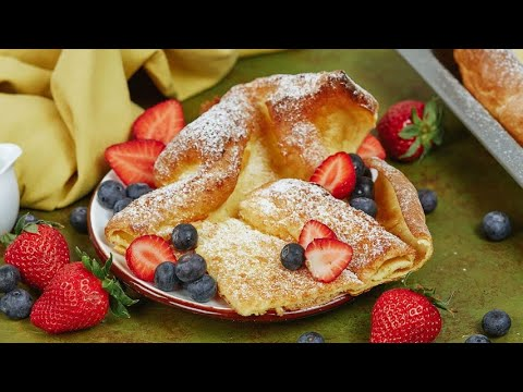 Dutch baby pancake prepare this classic dessert in really few steps
