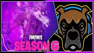LIVE/ NEW FORTNITE SEASON 6/ NEW BATTLE PASS MAP AND SKINS