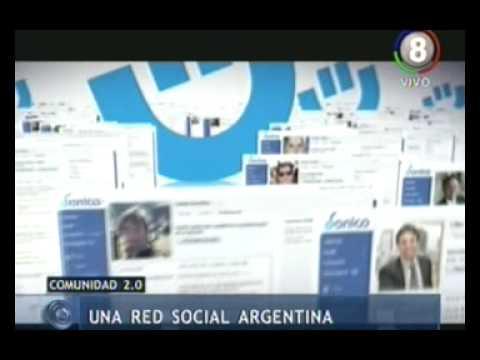 Presentamos una red social argentina.