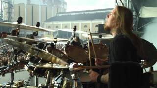 Pearl Artist Fredrik Andersson/Amon Amarth Drum Cam Tuska 2011 - War Of The Gods