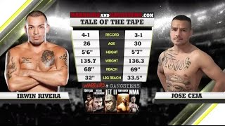 Now that's how you kick off a fight card! irwin rivera and jose ceja deliver an all out war to begin legacy 52 in one of our best fights 2016. axs tv is y...