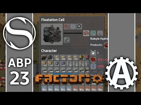 Floatation Cells | ABPlus Factorio 0.15 Part 23