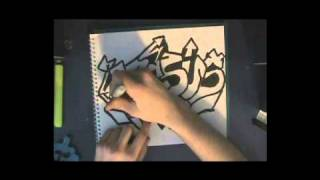 How To Draw Graffiti, A Beginner's Guide, Step By Step w/ Tips and Tricks
