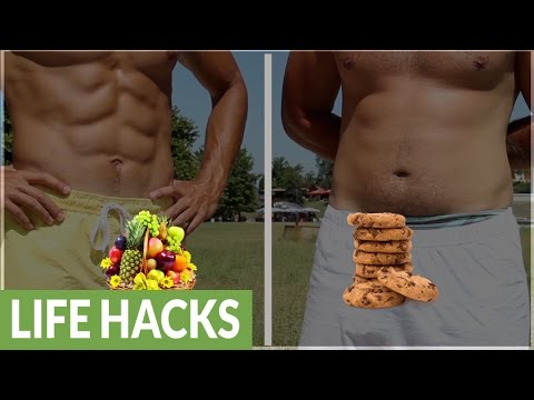 The difference between abs vs. fat
