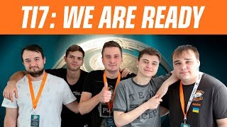 The main tournament of this year. Virtus.pro about The International 2017
