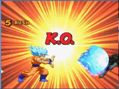 Mugen: Goku Ssj Blue Preview
