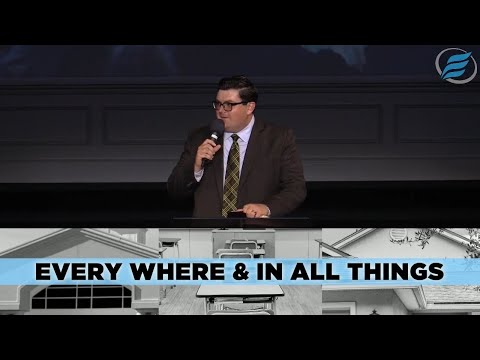 08/08/2021 | Every Where And In All Things | Rev. Tyler Ritchey