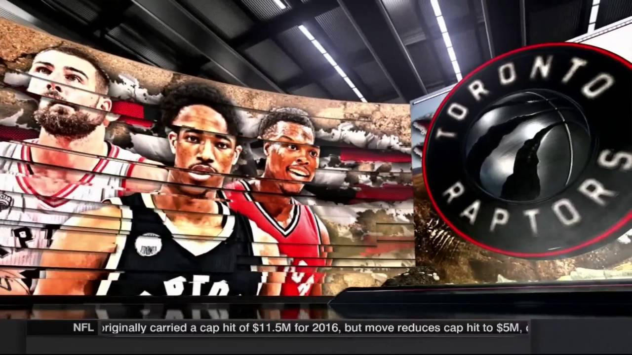 Miami Heat vs Toronto Raptors - NBA on ESPN Intro - 2016 NBA Playoffs 772d213a2a4b