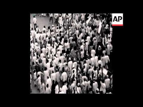 SYND16/04/71 A PROTEST MARCH TAKES PLACE IN DACCA