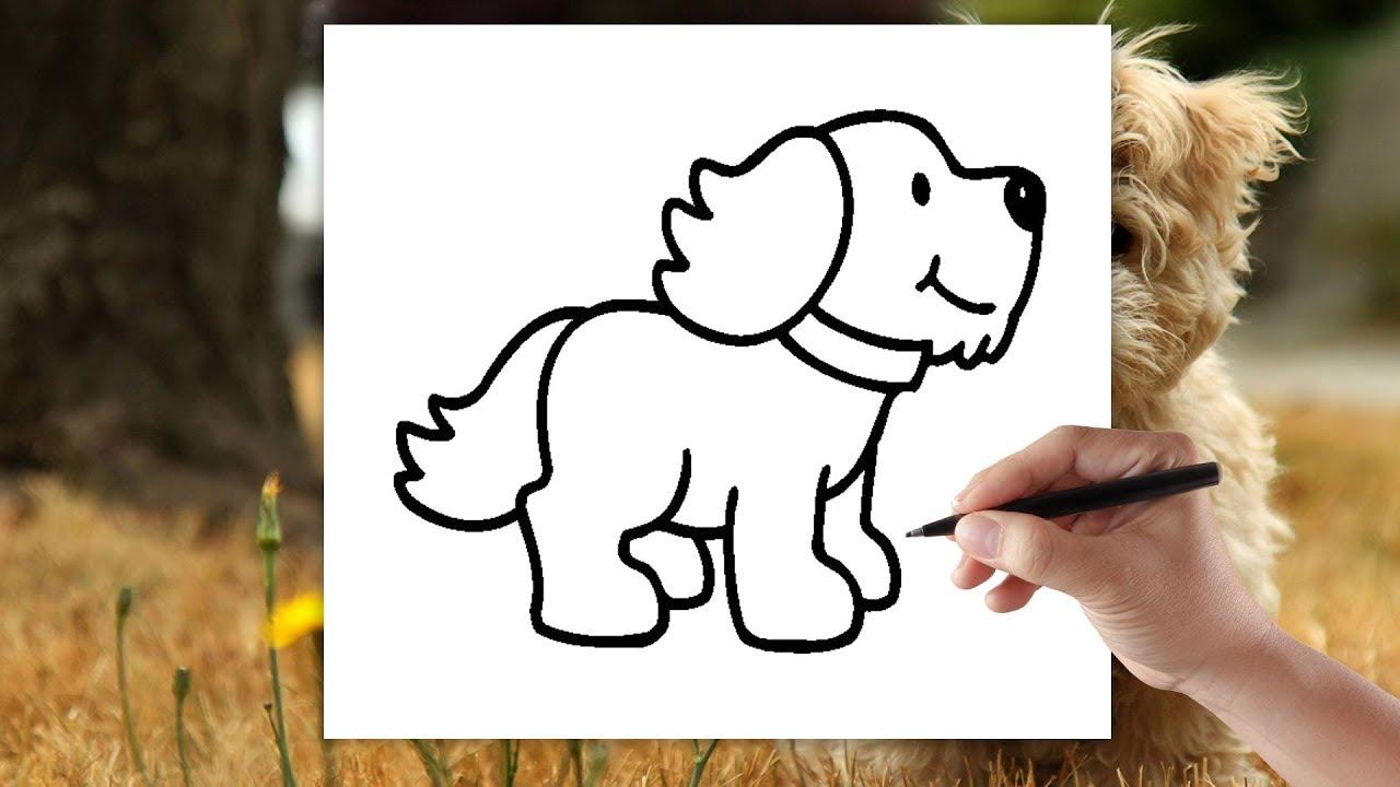 Piesek Jak Narysowac Psa Rysowanie Dla Dzieci Krok Po Kroku Youtube