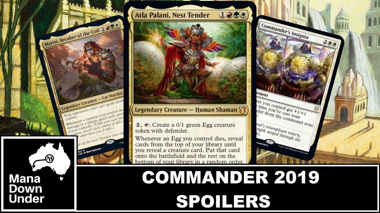 Commander 2019 Spoilers - Atla Palani & Marisi Naya Bombs [MTG / Magic: The  Gathering]