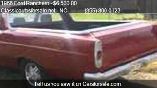 1966 Ford Ranchero  for sale in Nationwide, NC 27603 at Clas #VNclassics