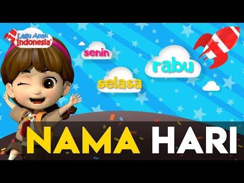 Lagu Anak | Lagu Nama Hari | Lagu Anak Indonesia