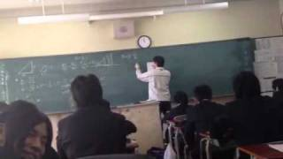 Урок в Японии