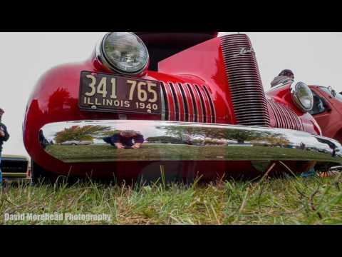 Antique car show and flea market, Morris, Illinois, October 30, 2016