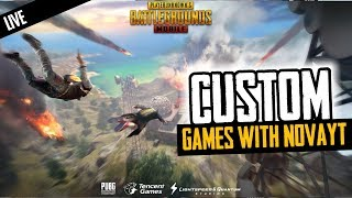 PUBG Mobile | Custom Rooms with Subs