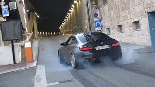 CRAZIEST BMW M4 Driver EVER - Addicted To BURNOUTS!