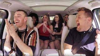 Fifth Harmony SURPRISES Sam Smith on Carpool Karaoke!