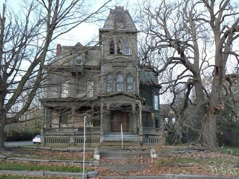 Creepy Old Victorian Houses ( Inside and Out )