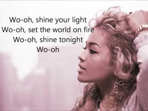 Rita Ora - Shine Ya Light (Lyrics On Screen) HD
