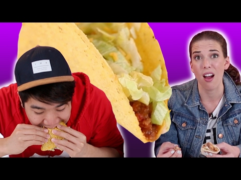 Thumbnail: People Eat Taco Bell For The First Time
