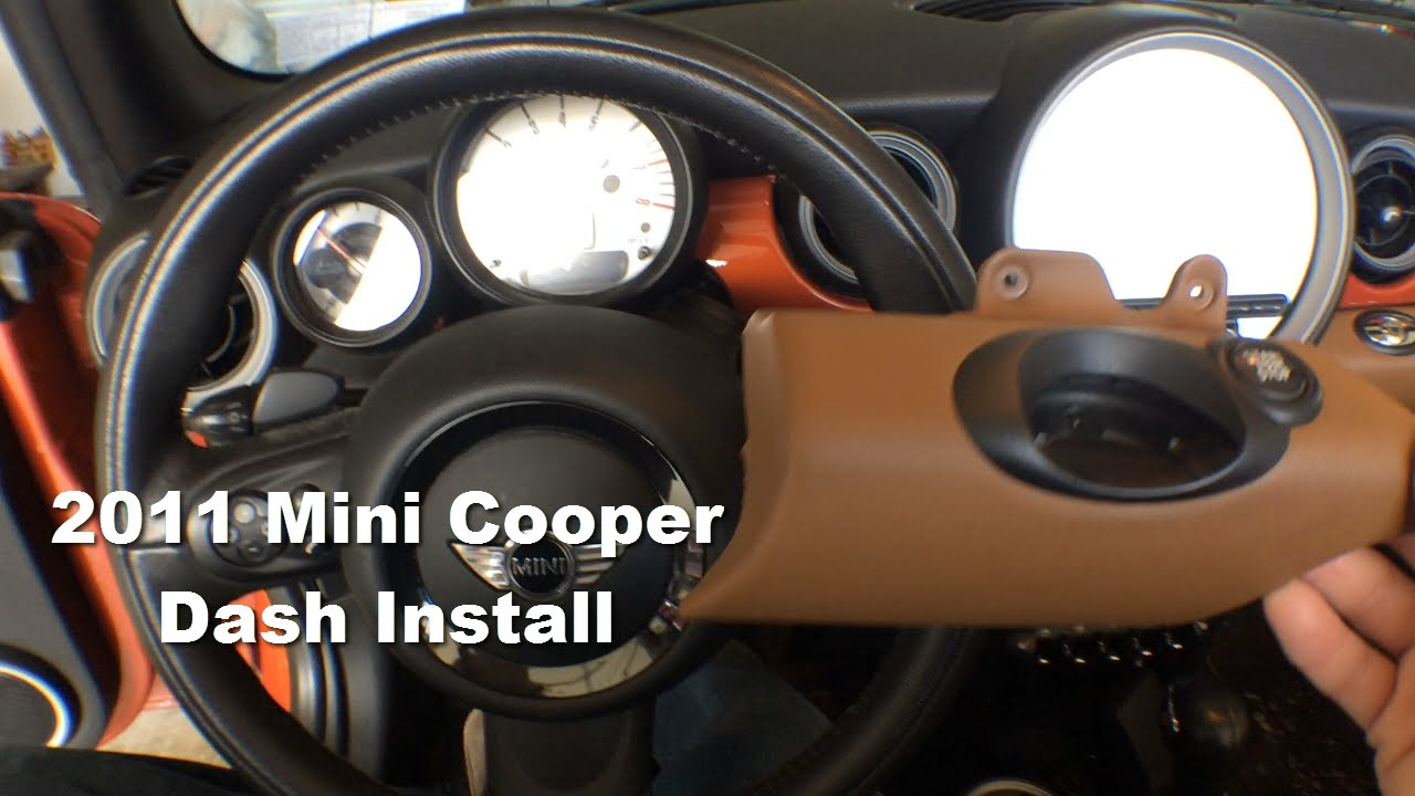 Mini Cooper Custom Dash Install Youtube